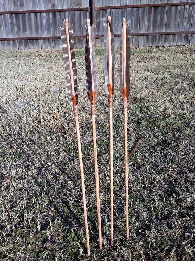 Dogwood arrows.